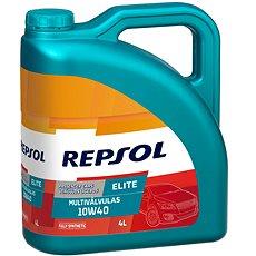 REPSOL ELITE MULTIVÁLVULAS 10W-40 4l (Akce 3+1L Zdarma) - Motorový olej