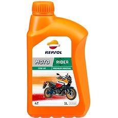 REPSOL MOTO RIDER 4-T 15W-50 1l - Motorový olej