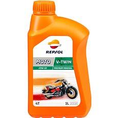REPSOL MOTO V-TWIN 4T 20W-50 1l - Motorový olej