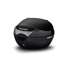SHAD Vrchní kufr na motorku SH33 černá - Moto kufr