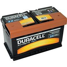 Duracell Extreme AGM DE 80 AGM, 80Ah, 12V ( DE80AGM ) - Autobaterie