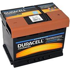 Duracell Advanced DA 62H, 62Ah, 12V ( DA62H ) - Autobaterie