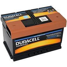 Duracell Advanced DA 72, 72Ah, 12V ( DA72 ) - Autobaterie