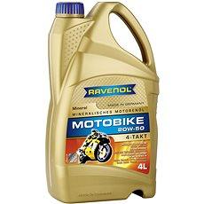 RAVENOL Motobike 4-T Mineral 20W-50; 4 L  - Motorový olej