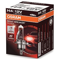 OSRAM H4 Night Breaker SILVER +100% - Autožárovka