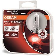 OSRAM H4 Night Breaker SILVER +100%, 2ks - Autožárovka