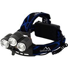 Cattara LED 400lm (1x XM-L+2x XP-E) - Čelová svítílna