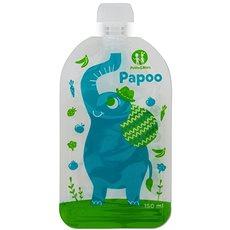 Petite&Mars kapsička na jídlo Papoo - 6× 150 ml - Plnitelná kapsička