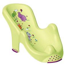 KEEEPER Lehátko do vany HIPPO - zelené - Lehátko do vaničky