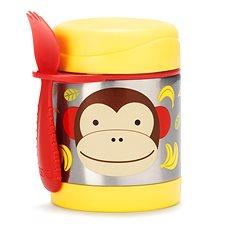Skip hop Zoo Termoska - Opička - Dětská termoska