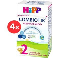 HiPP 2 BIO Combiotik - 4× 600 g - Kojenecké mléko