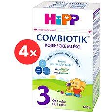 HiPP 3 Junior Combiotik - 4× 600 g - Kojenecké mléko