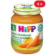 HiPP BIO Karotka s bramborami - 6× 125 g - Dětský příkrm