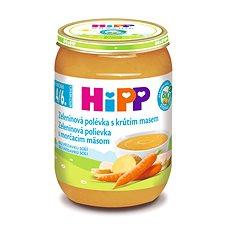HiPP BIO Zeleninová polévka s krůtím masem - 6× 190 g - Dětský příkrm