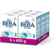 BEBA OPTIPRO 2 (6× 600 g) - Kojenecké mléko