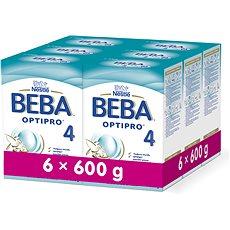 BEBA OPTIPRO 4 (6× 600 g) - Kojenecké mléko