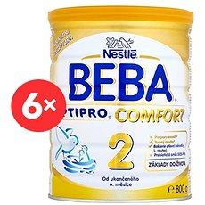 BEBA OPTIPRO COMFORT 2 (6× 800 g) - Kojenecké mléko