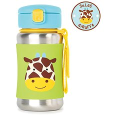 Skip hop Zoo Láhev na vodu - Žirafa - Láhev na pití pro děti