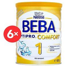 BEBA OPTIPRO COMFORT 1 (6× 800 g) - Kojenecké mléko