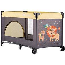 Petite&Mars Koot Lion Yellow - Cestovní postýlka