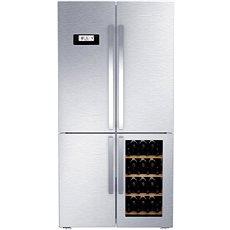 GRUNDIG GWN 21210 X - Americká lednice