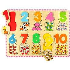 Dřevěné počítací puzzle II - Puzzle