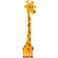 Dřevěná dekorace - Dětský metr Žirafa Amina  - Dekorace do dětského pokoje