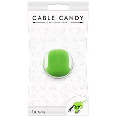 Cable Candy Turtle zelený  - Organizace kabelů