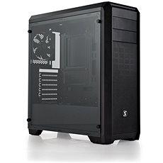 SilentiumPC Regnum RG4T Pure Black TG (tempred glass) černá - Počítačová skříň