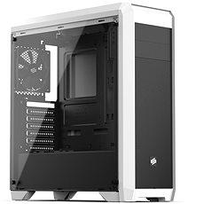 SilentiumPC Regnum RG4TF Tempered Glass bílá - Počítačová skříň