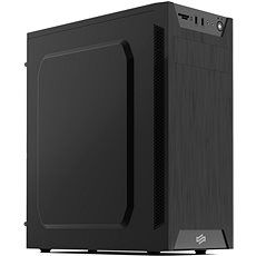 SilentiumPC Armis AR1 Pure Black - Počítačová skříň