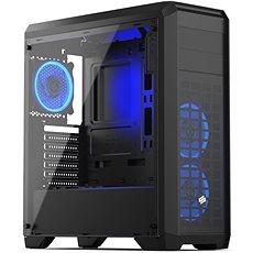 SilentiumPC Regnum RG4T RGB Pure Black - Počítačová skříň