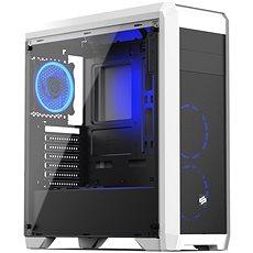 SilentiumPC skříň Regnum RG4TF RGB Frosty White - Počítačová skříň