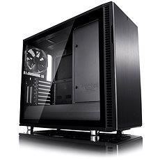 Fractal Design Define R6 USB-C Blackout Tempered Glass - Počítačová skříň