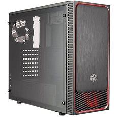 Cooler Master MasterBox E500L červená - Počítačová skříň
