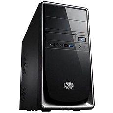 Cooler Master Elite 344 USB 3.0 černo-stříbrná - Počítačová skříň