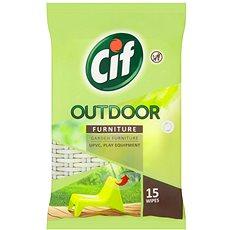 CIF Outdoor Furniture Wipes 15 ks - Čisticí ubrousky