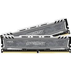 Crucial 16GB KIT DDR4 3000MHz CL16 Ballistix Sport LT Single Ranked Grey - Operační paměť