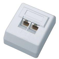 Datacom Datová zásuvka UTP CAT6 na omítku 2455 - Zásuvka