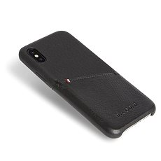 Decoded Leather Case Black iPhone XS/X - Kryt na mobil