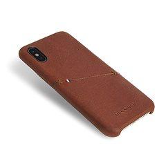 Decoded Leather Case Brown iPhone XS/X - Ochranný kryt