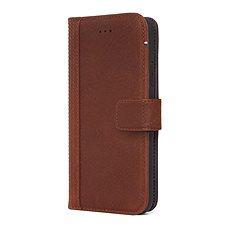 Decoded Leather Wallet Case Brown iPhone XS/X - Pouzdro na mobilní telefon