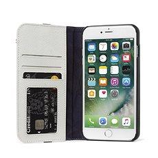 Decoded Leather Wallet Case 2 Grey iPhone 8 Plus/7 Plus/6s Plus - Pouzdro na mobilní telefon