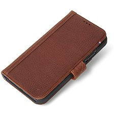 Decoded Leather Card Wallet Brown iPhone XR - Pouzdro na mobilní telefon