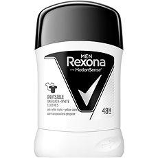 REXONA Men Invisible Black+White 50 ml - Pánský antiperspirant