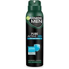 GARNIER Men Antiperspirant Pure Active Antibacterial 150 ml - Pánský antiperspirant