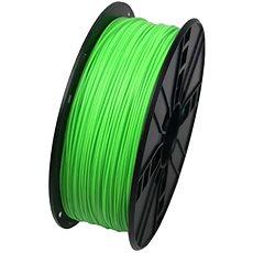 Gembird Filament PLA fluorescentní zelená - Filament