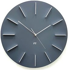 FUTURE TIME FT2010GY Round Gray - Nástěnné hodiny