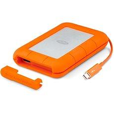 "LaCie 2.5"" Rugged 500GB Thunderbolt SSD USB-C + 3 roky SRS Rescue - Externí disk"