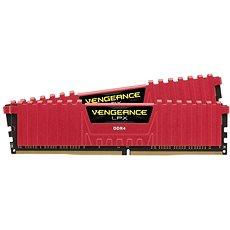 Corsair 16GB KIT DDR4 3200MHz CL16 Vengeance LPX červená - Operační paměť
